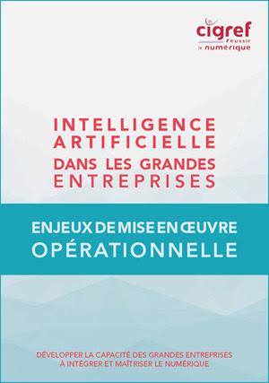 Le CIGREF publie « Les enjeux de mise en œuvre opérationnelle de l'intelligence artificielle dans les grandes entreprises »