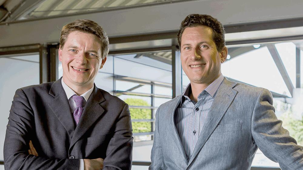 Matthieu Bruneteau de Gorsse, CEO, et Grégoire Pfirsch, Directeur Général