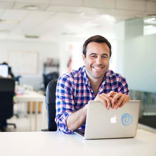 Pedro Moneo, CEO & founder d'Opinno