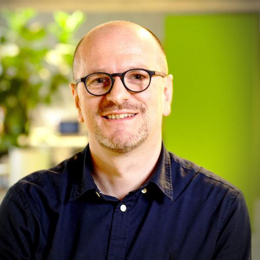 Frank Hamerlinck, Directeur des Opérations et co-fondateur de NGDATA