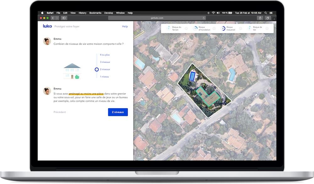 Première mondiale : Luko, la néo assurance, lance son assurance maison par imagerie satellite