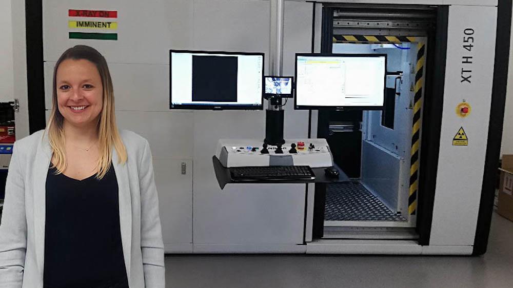 Laura Créon, responsable d'activité en tomographie à rayons X, chez Sematec Métrologie