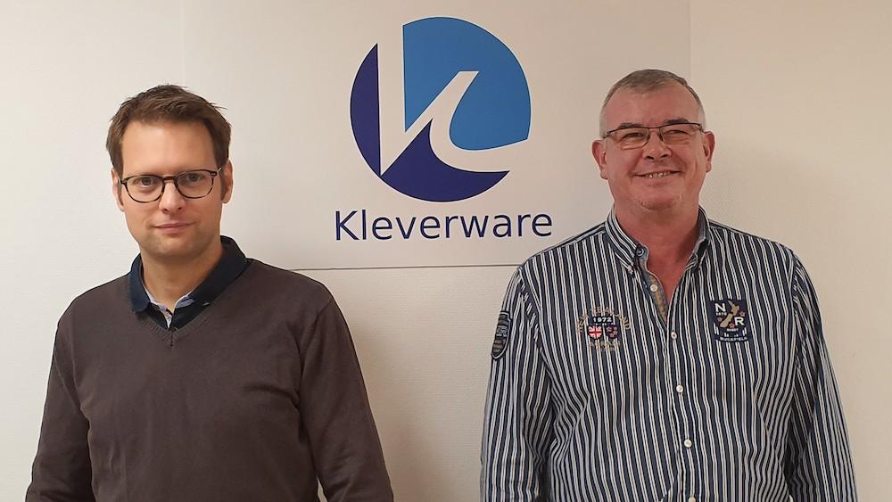 Bertrand Augé et Arnaud Fléchard, CEO et CTO de Kleverware