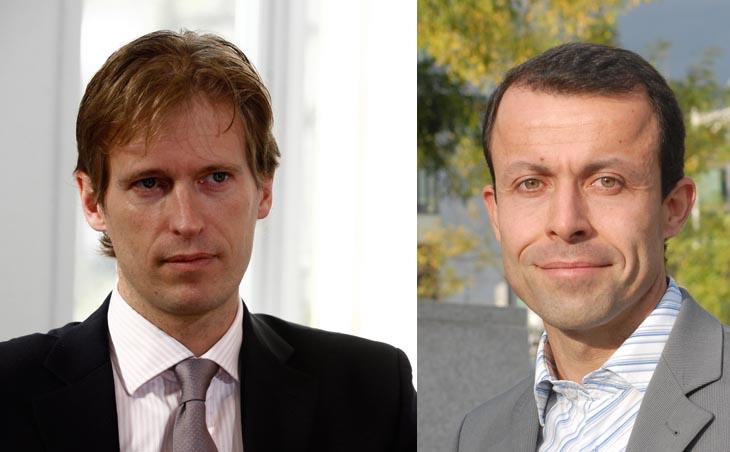 Gilles Pecqueron, Business Developer Manager chez Telehouse et Gildas Leroy, Vice-Président EMEA d'EasyVista