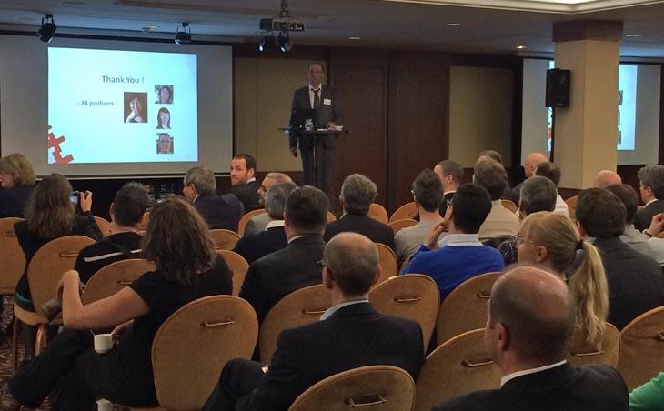 Mot d'introduction de Dario Mangano au Swiss BI Day
