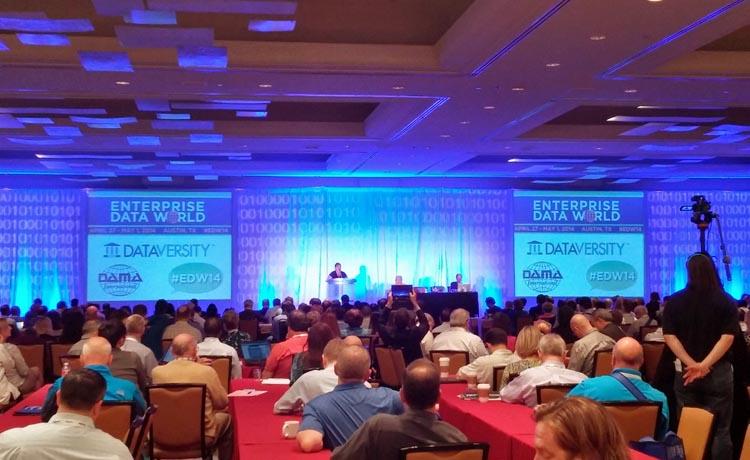 Conférence d'ouverture de Enterprise Data World 2014