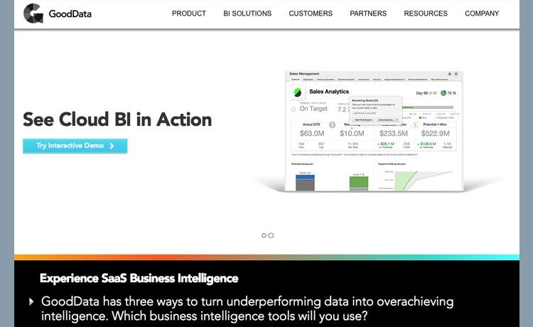 GoodData lance une offre d'entrepôt de données hébergé de l'intégration à l'analyse