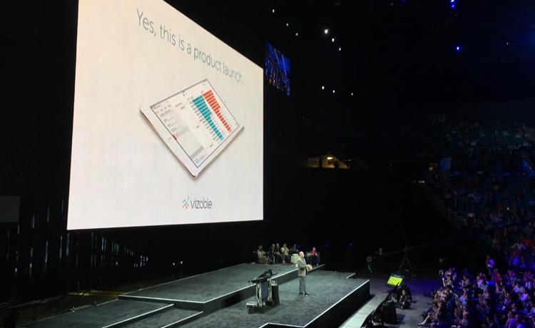 10 000 personnes à la conférence de Tableau et un nouveau produit pour iPad, Vizable