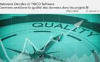 31 janvier à 11h - Webinaire TIBCO <br>Comment améliorer la qualité des données