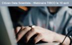 8 mars à 15h - Webinaire TIBCO <br>Citizen Data Scientist : la science des données à la portée de tous