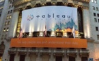 Tableau Software sonne la cloche et réussit son introduction en bourse