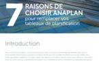 [Promotion] Téléchargez le livre blanc Anaplan : 7 raisons pour remplacer vos tableaux de planification