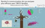 9 juin à 11h - Webinaire : Comment rendre la communication de vos analyses plus efficace avec le visual storytelling de TIBCO Spotfire
