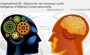 29 novembre à 14h30 (CEST) - Webinaire Conversational BI : Découvrez ces nouveaux outils / Intelligence d'Affaires Conversationnelle