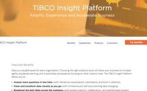TIBCO aide les entreprises à adopter une logique analytique avec TIBCO Insight Platform