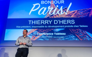 Thierry D'Hers, Vice President, Product Development, Tableau Software