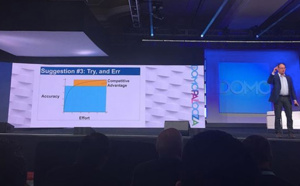 Domo disposerait du plus important cloud analytique, avec 100 000 milliards de lignes de données
