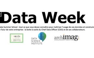 Data Week 2017 : Une semaine d'ateliers de formation pratique organisée par Serda et Decideo