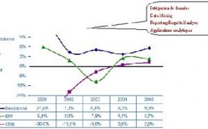 Etude quantitative sur la valeur et la dynamique 2004 – 2008 du marché français des logiciels de décisionnel
