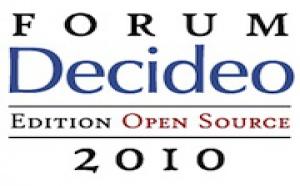 Inscrivez-vous au Forum Decideo Edition Open Source du 18 mars 2010 au Toit de la Grande Arche