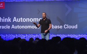 Larry Ellison annonce le lancement d'Oracle Autonomous Transaction Processing
