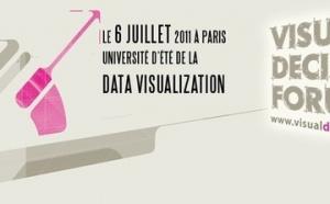 """Université d'été de la """"Data Visualization"""", le 6 juillet à Paris"""