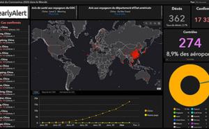 Coronavirus: utilisation d'Operation Dashboard for ArcGIS pour la communication grand public